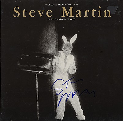 Martin, Steve - signed In Person LP